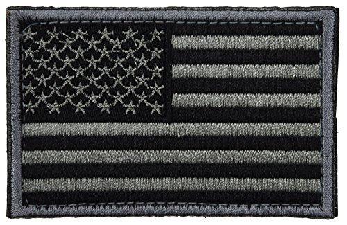 Band-logo Gestickt Hat (ArcEnCiel Tactical Patch USA Flag (Grey))