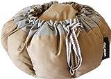 Wonderbag, Tragbarer Schongarer mit Rezeptbuch in Grau/Khaki