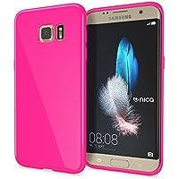 NALIA Coque Silicone pour Samsung Galaxy S7 Edge, Ultra-Fine Housse  Protection Cover Slim 0ab6943180bf
