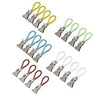 Haimist Multicolor Metal Kitchen Tea Towel Storage Clip Clips Holder Hanger 20Pcs