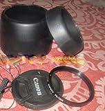#10: NUMEX COMBO CANON EW60 + ET60 REPLCAMENT LENS HOOD + CAP + SAFTEY UV 58MM filter for canon eos 18-55mm 55-250mm lens with canon 550D 600D 650D 700D 5D 7D 60D