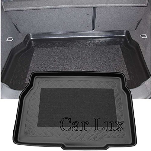 Car Lux NAR01684 - Alfombra Bandeja Cubeta Protector Maletero