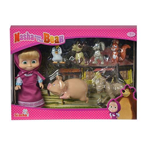 Simba 109301020 - Mascha und der Bär - Mascha und Ihre Tierfreunde Preisvergleich