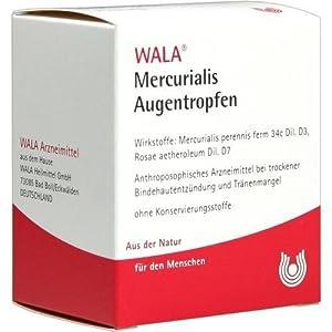 MERCURIALIS AUGENTROPFEN 30X0.5ml Augentropfen PZN:1448300