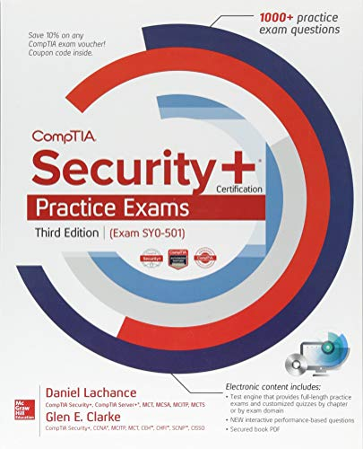 CompTIA Security+ Certification Practice Exams, Third Edition (Exam SY0-501) por Glen Clarke
