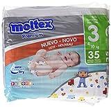 Moltex Premium - Bolsa de Pañales Desechables, 35 Unidades