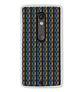 Fuson Zig Zag Lines Designer Back Case Cover for Motorola Moto X Style :: Moto X Pure Edition (Ethnic Pattern Patterns Floral Decorative Abstact Love Lovely Beauty)