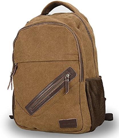 Zaino di tela, da bambino, bambino, bambino, adolescente Haversack-Zaino per la scuola, per PC portatili 8a6d0a