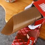 Gold Schweren Kohlenstoff Stahl Antihaftbeschichtete Backblech, Längliche Kuchen -, Rinder -, Zucker -, Backen -,Die 12 Zentimeter Single Geladen Plane