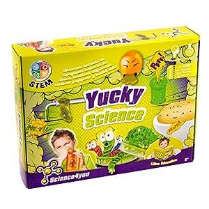 Science4you - Yucky Science - Laboratório repugnante - Juguete Educativo para Niños +8 Años