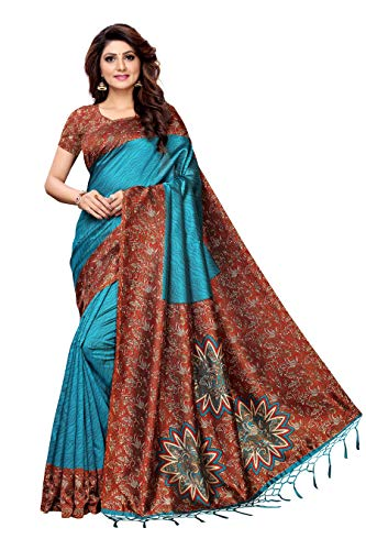 646b0114260 Drashti Villa Women s Bangalory Silk Printed and Net Anarkali Gown ...