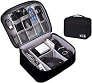 Electronics Organizer Case Digital Accessories Cable Organizer Bag Travel Cable Storage Bag Protects USB Drive