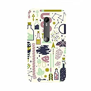 Back cover for Moto X Play Abstract Pattern