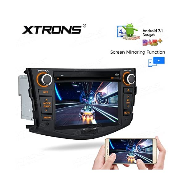 XTRONS Android 8 1 Car Stereo 7 Inch Multi-touch Screen Bluetooth Head Unit  Car Radio Multimedia Player Supports Wifi GPS Full RCA Output OBD DAB+ 2K