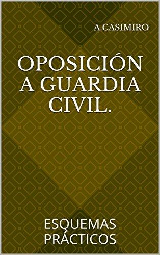 Oposición a Guardia Civil.: ESQUEMAS PRÁCTICOS