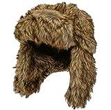 CrazyGadget® in finta pelliccia colbacco sci caldi Crossack da uomo donna unisex stile russo
