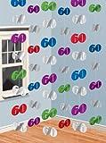 6 Guirlandes Verticales 60 ans