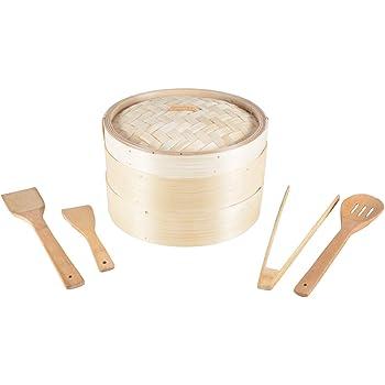 Bambusdämpfer 3-teiliges Set 30,5cm STABILER Bamboo