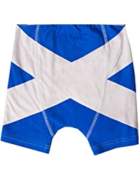SCOTLAND SALTIRE FLAG BOXER SHORTS