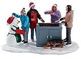 Lemax Snowy BBQ - beleuchteter Grill - 4,5V/Batteriebetrieben - Weihnachtsdorf Zubehör - Christmas Village
