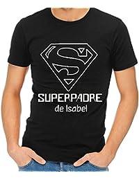 Camiseta Personalizada Superpadre - Regalo para el día del Padre