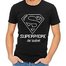 Calledelregalo Camiseta Personalizada 'Superpadre' - Regalo Para el Día del Padre