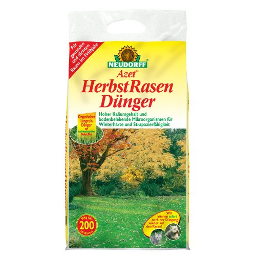 Neudorff 01210 Azet Herbst Rasendünger, 20 kg -