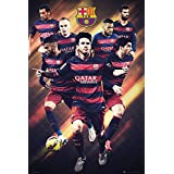 GB eye, Barcelona FC, Players 15/16, Maxi Poster, 61x91.5cm
