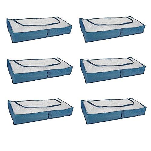 Unterbettkommode Unterbett Kommode Aubewahrung mit Reißverschluss (6)