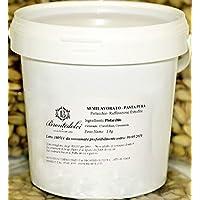 Brontedolci - 100% pura Pasta de Pistachos Verde crudos del Etna - 1Kg