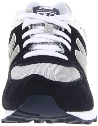 New Balance K 574v1, Baskets Basses Mixte Enfant Noir (Black/White)