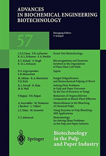 Biotechnology in the Pulp and Paper Industry (Advances in Biochemical Engineering/Biotechnology)