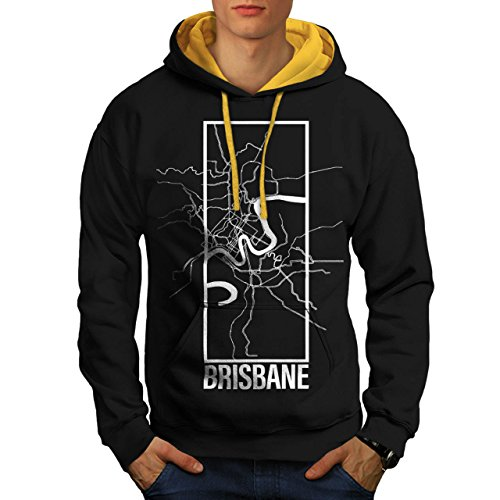 australia-brisbane-big-town-map-men-new-black-gold-hood-m-contrast-hoodie-wellcoda