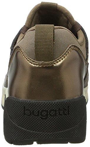 Bugatti - 422277615060, Pantofole Donna Braun (Taupe / Brown)