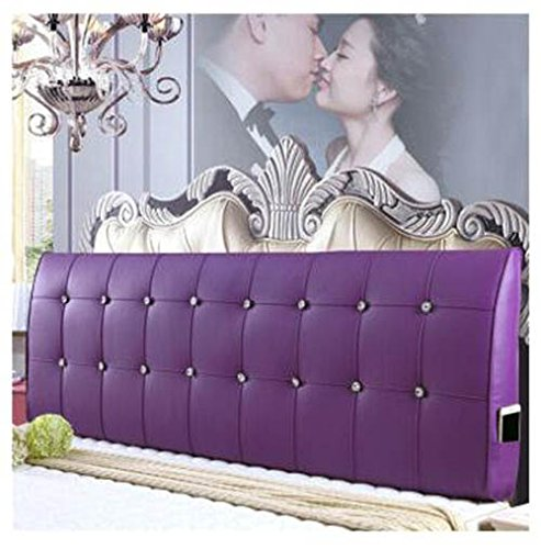 Möbel Simmons (Bedside Rückenlehne Waschbare dreieckige Ebene Single / Double Simmons Bett gebogene Rückenlehne Kissen Soft Pack ( Farbe : H , größe : L ))