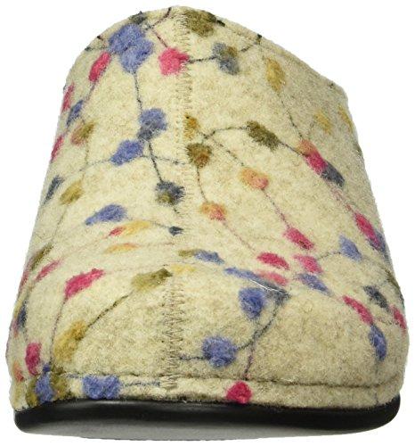 Berkemann - Donata, Pantoufles Multicolores Pour Femmes (mehrfarbig (weiss / Tupfen 139))