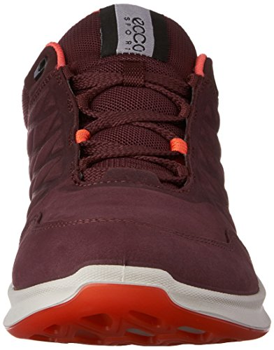 Ecco Exceed, Sneakers Basses Femme Rouge (2070Bordeaux)