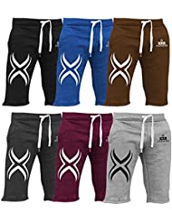 XXR X1 Mens Fleece Shorts Jogging Bottom Joggers MMA Boxing Gym Fitness Sweat Shorts Casual Home Wear