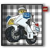 Vespo - Cojín con diseño policía de Lego (45 x 45 cm)
