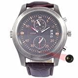 Best WISEUP Dvr Cameras - WISEUP 8GB Mini Spy Watch Artificial Leather Wristb Review