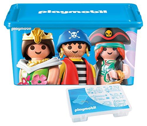 Playmobil–064672–Gran Caja de almacenaje 23L + Caja con divisiones–Mixta