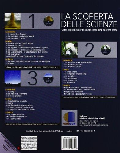 La scoperta delle scienze. Corso di scienze. Per la Scuola media. Con DVD-ROM. Con espansione online: 3