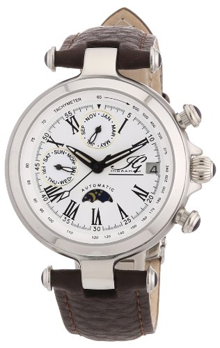 Ingraham Women's Automatic Watch Manaus II IG MANA.2.200103 with Leather Strap