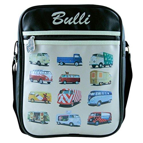 VW Collection by Brisa Parade Shoulder Bag Nero/Crema