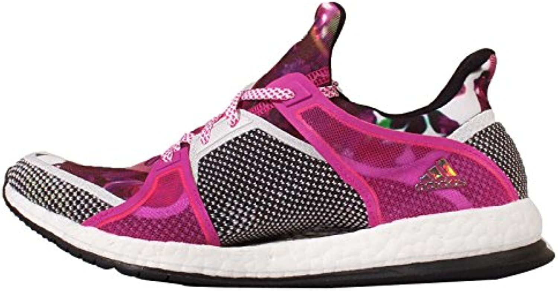 Adidas Pure Boost X TR W, Zapatillas de Running para Mujer, Blanco/Negro/Rosa (Ftwbla/Negbas/Rosimp), 38 2/3 EU