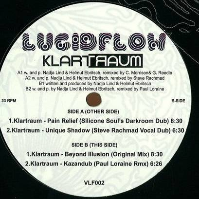 Klartraum - Beyond Illusion EP - Lucidflow - VLF002