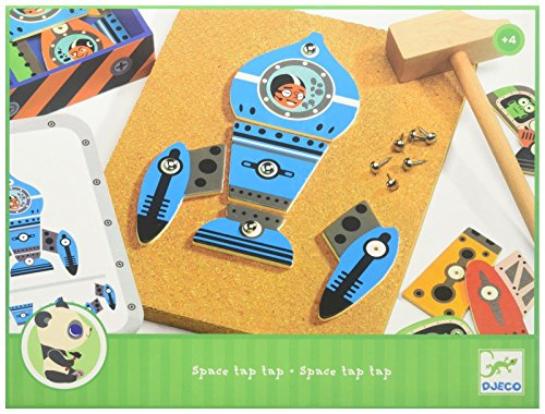 Djeco - Jeu de clous - Space Tap Tap