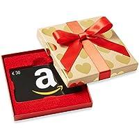Amazon.de Geschenkgutschein in Geschenkbox (Goldene Herzen) - mit kostenloser Lieferung am nächsten Tag
