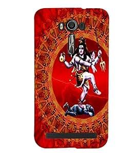Fuson Lord Ganesh Case Cover for Asus Zenfone Laser2