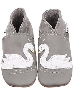 Inch Blue Swan | Mädchen Krabbelschuh - Grau